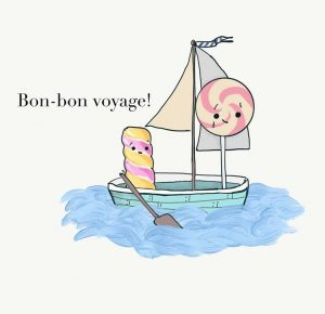 bon voyage sugar 300x290 - Green Poo and Ham